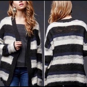 House of Harlow 1960 Chunky Striped Cardigan